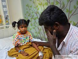 Help Gowsaliya fight heart disease