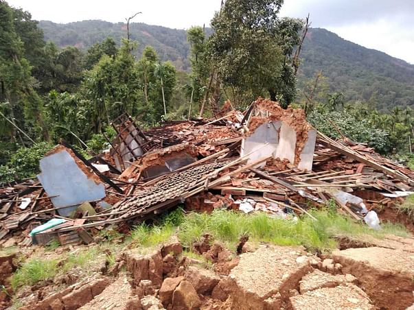 Support To 250 Kodagu Flood Affected Families For Resettlement