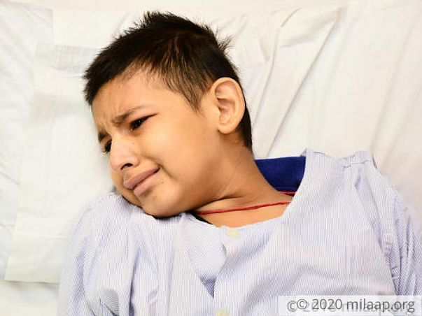 13-Year-Old Cries Of Searing Pain From Cancer, Needs Urgent Treatment