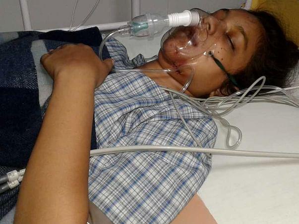 Help Nandini fight her life,Nandini Kashyap, 16,fell from 4th floor