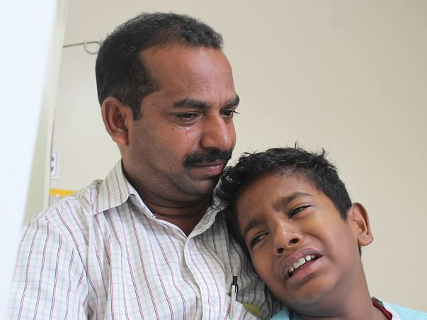 Contract Laborer Cannot Save 10-Year-Old Who Cries And Begs God