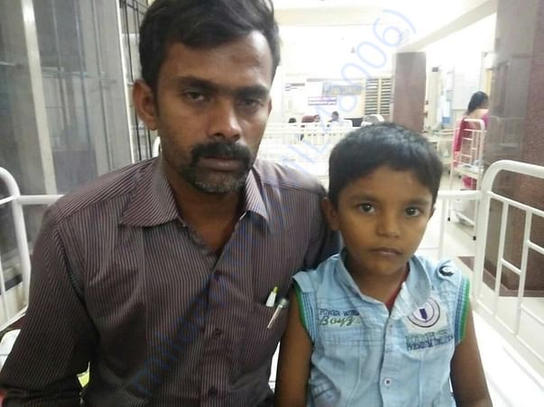 Join hands to help a child