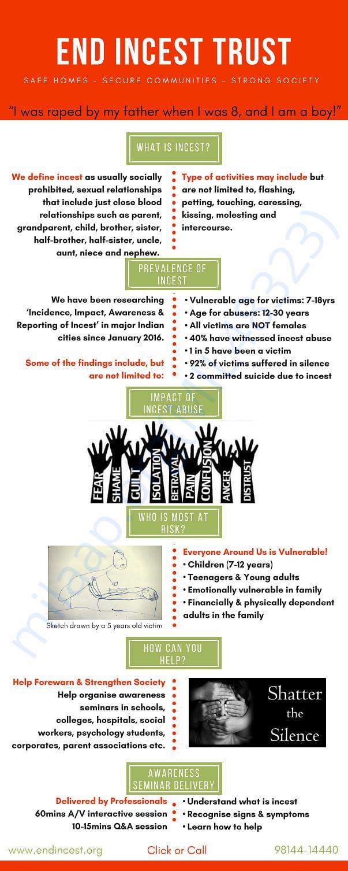 End Incest Abuse - Awareness Flyer