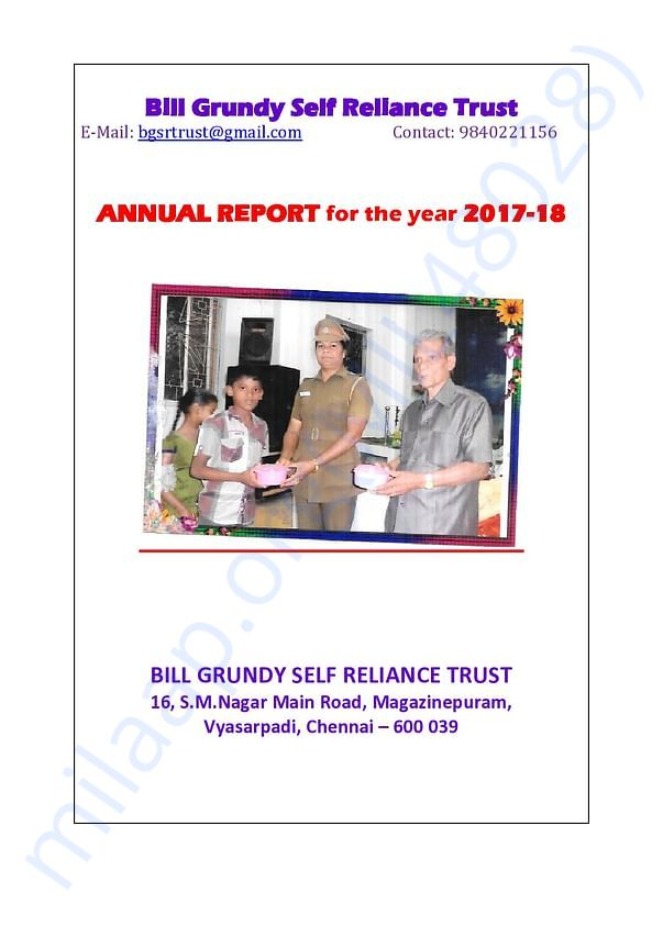 Annual Report - Pg.1