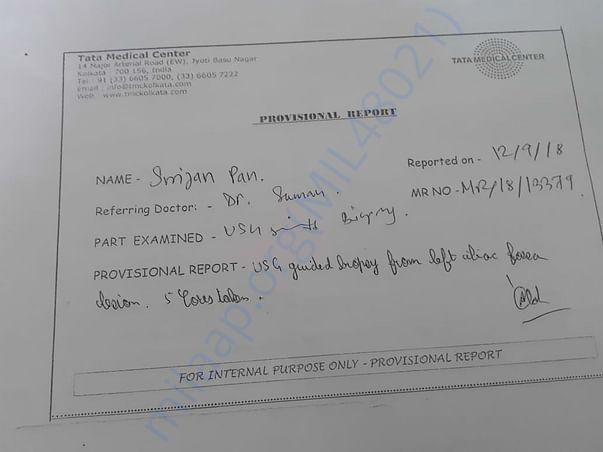 Provisional Report
