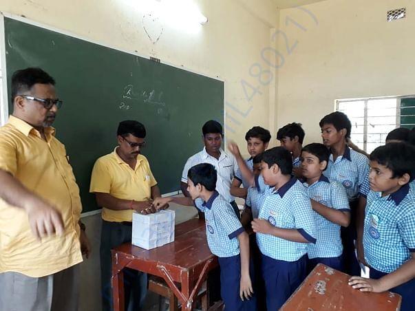 Srijan's friends contributing