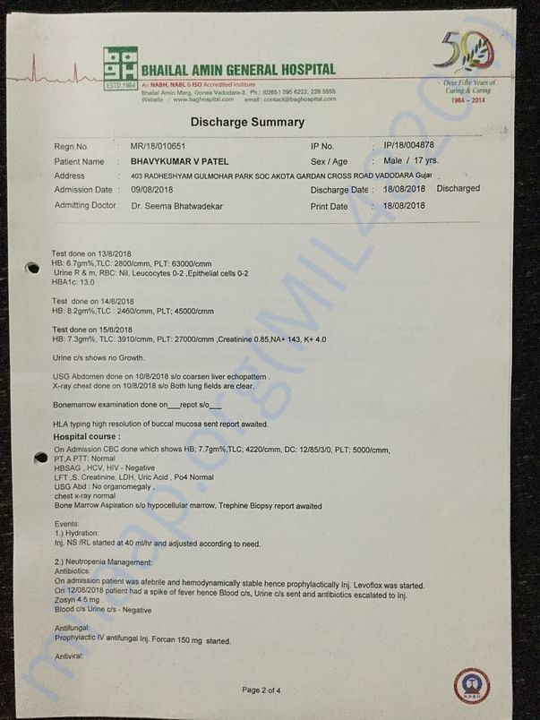 Diagnosis & Discharge Summary 3