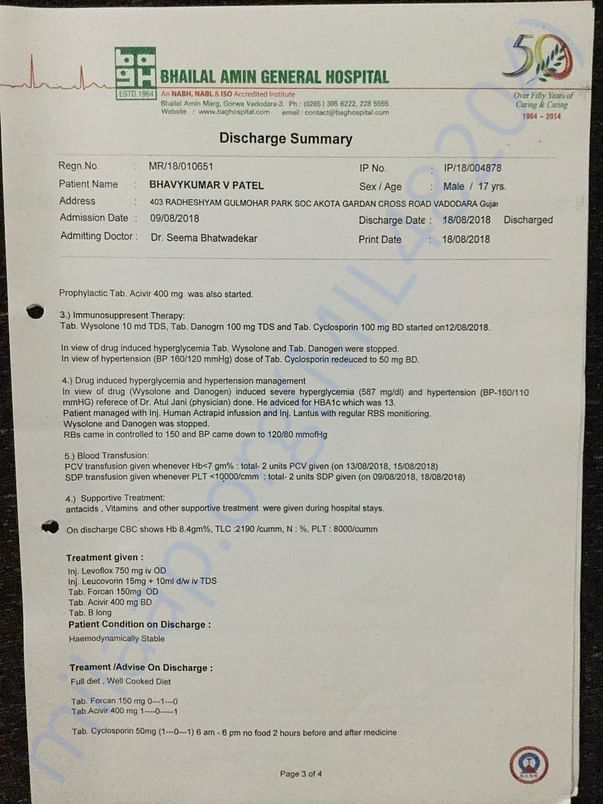 Diagnosis & Discharge Summary 4
