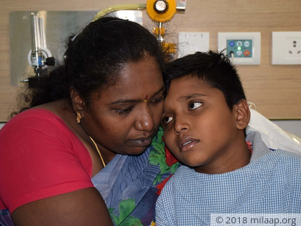 Unaware Of Her Son's Cancer, This Mother Is Hoping To Take Him Home