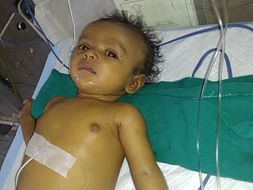 Help to Mr. Siddaraju' s 7 months old baby girl