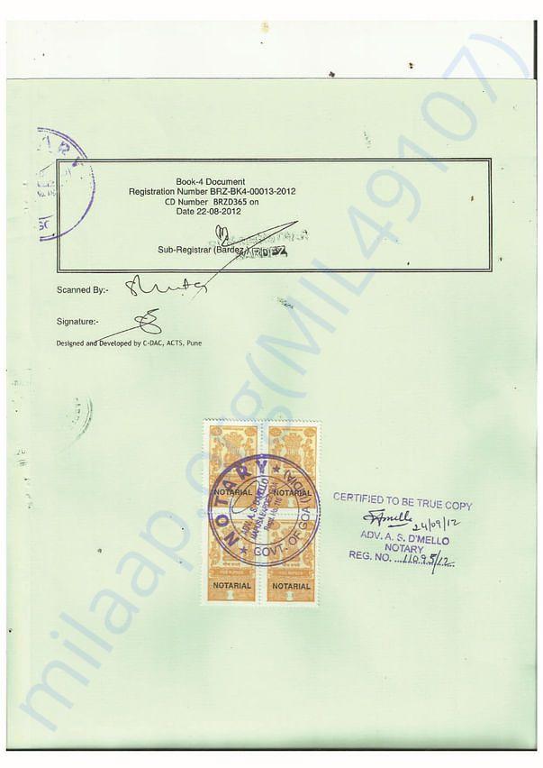 Trust Registeration Information