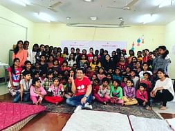 Toys & Sports Material For Orphans On Children's Day