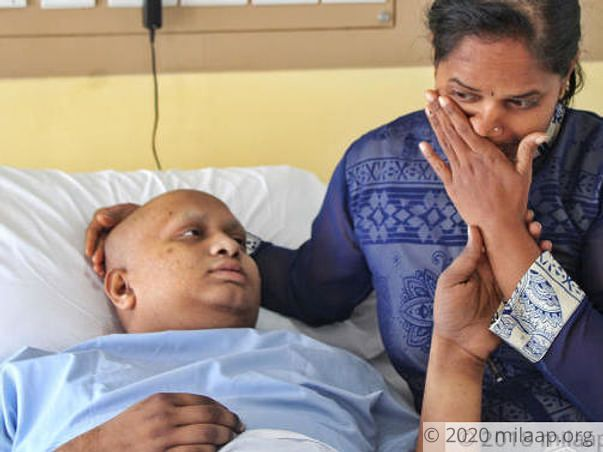 18-years old Shivanaga needs your help to fight disease