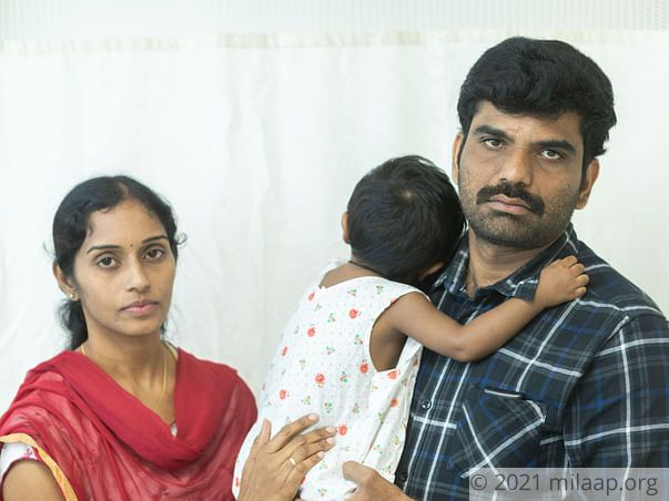 Teacher Struggles To Save His 1-Year-Old From Dreadful Liver Disease