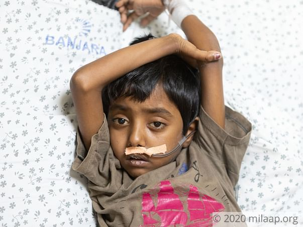 Bleeding In This 8-Year-Old's Brain May Paralyze Him Without Help