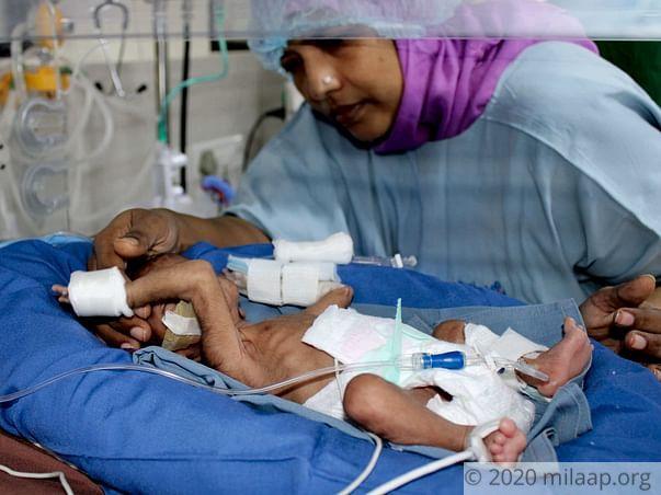 Sabir unnisa needs your support to save her baby
