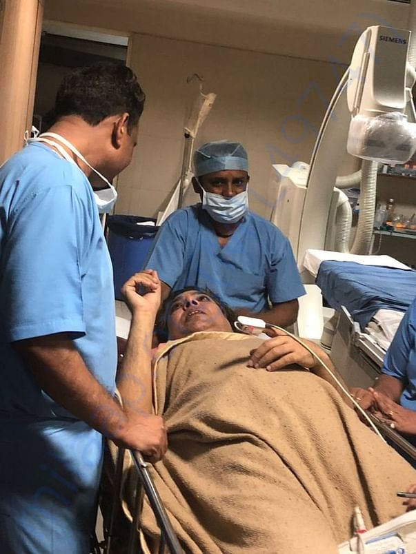 Veteran Journalist Hospitalised Heart Surgery have Financial Crisis