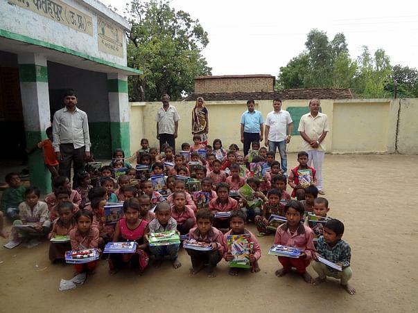 School For Poor Rural Students In Village