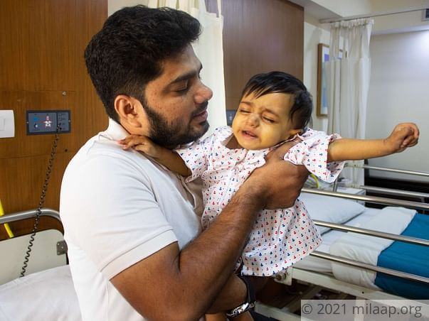 11-Month-Old With 100% Damaged Liver Has Few Weeks Left For Surgery