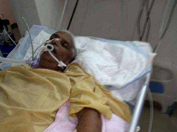 Help Srinivasamurthy survive a hit-and-run accident
