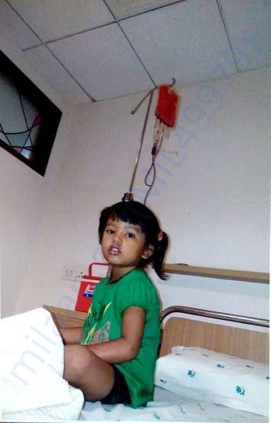 help sushmita 4 thalassemia cure