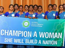 Support Shakti Scholars to be champion women!