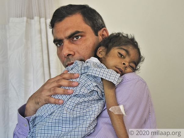 Help Little Parth Undergo A Liver Transplant For The 2nd Time