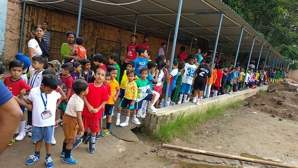 Red Miners helping in local football grassroots programme