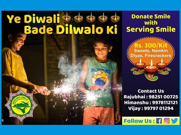 Ye Diwali Dilwalo ki with Serving Smile