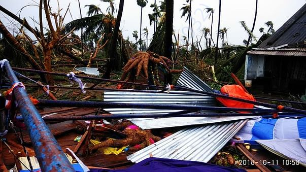 Titli Cyclone Impact in Northa coastal Andhrapradesh and Odisha