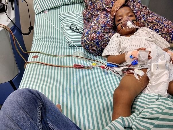 Madhuram's 1st phase of Treatment started