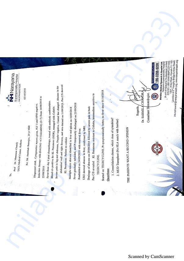 Anubhab's cytogenetics report