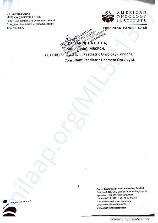 Estimation Letter - Page 2