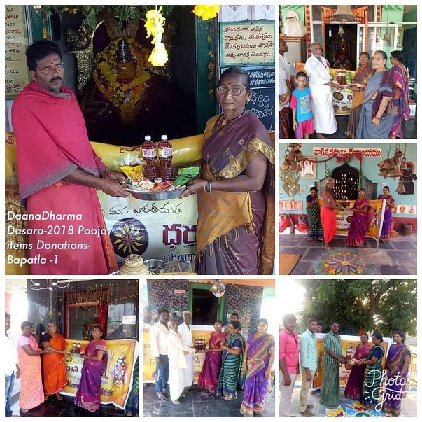 Pooja items donation for Dasara1