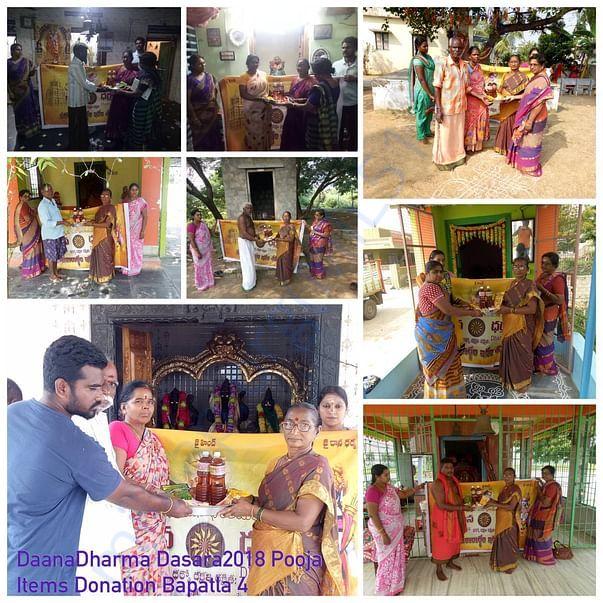 Pooja Items donations Dasara 3