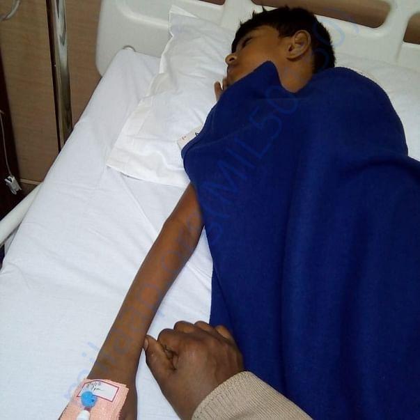 Lavan at the hospital