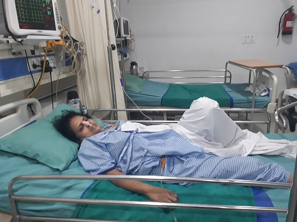 My maa Rakhi is battling with life recovering from critical condition