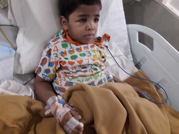 Help 5-yr-old Tejas Undergo A Bone Marrow Transplant