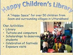 Help Happy Children's Library reach more children