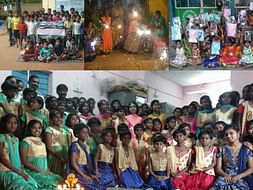 Diwali Celebrations with Homeless Boys and Girls