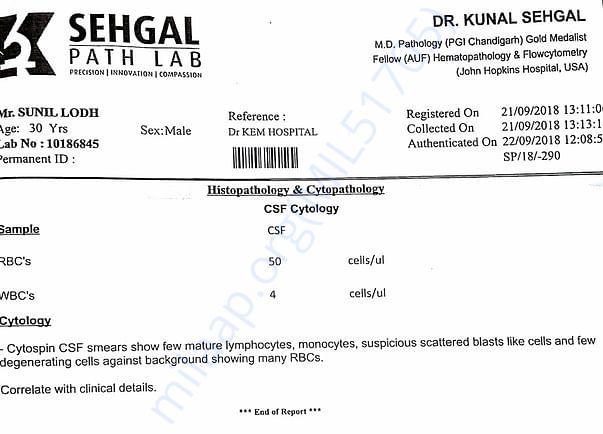 Cytometry report 3