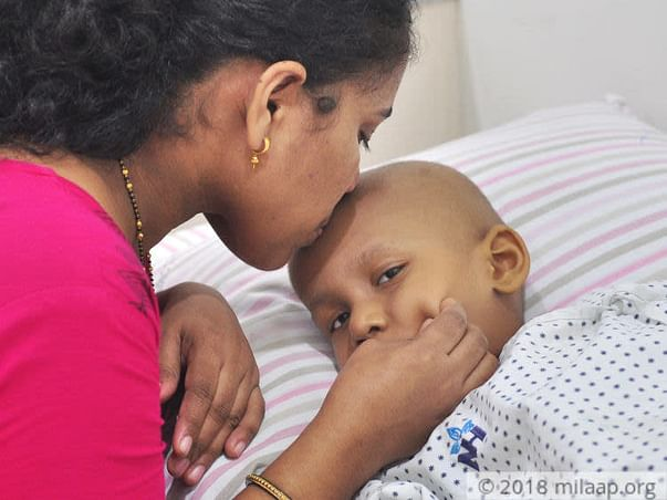 Few Days After Starting Playschool 3-year-old is Diagnosed With Cancer