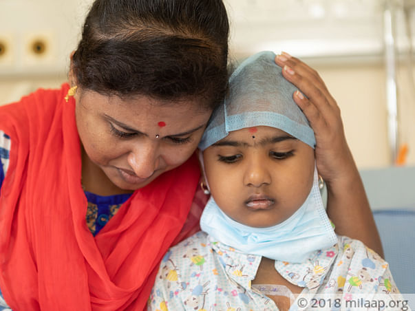 Help Gurthika fight blood cancer