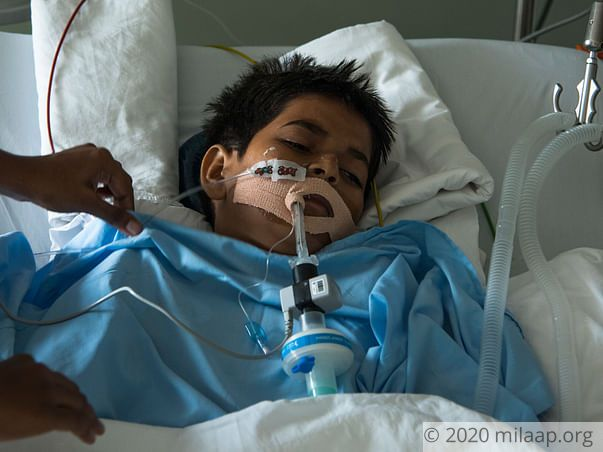 After A Severe Cardiac Arrest,Teenager Is Now Fighting For His Life