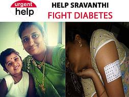 Help Sravanthi Fight Diabetes [Urgent]