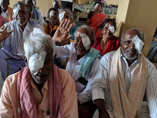 Help Us In Conducting A Eye-Health Camp