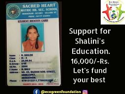 Support Shalini For HerEducation
