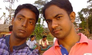 Anirban on Left