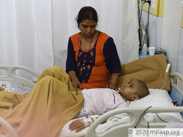 Support 8-years old Ruturaj to undergo his Cancer treatment