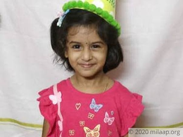 Support 4-years old Bhavya to Fight Disease